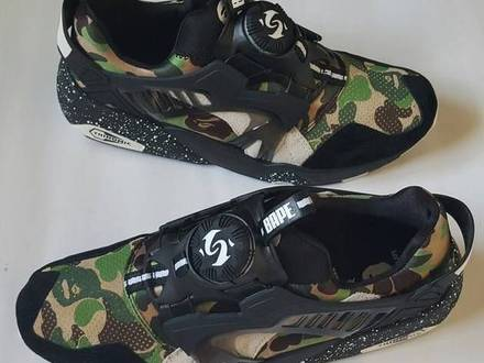 Puma Disc Blaze x BAPE us 8.5 / 41 eu - photo 1/5