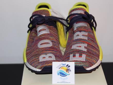 Pharrell x adidas nmd hu trail human race ac7360 multi - photo 1/7