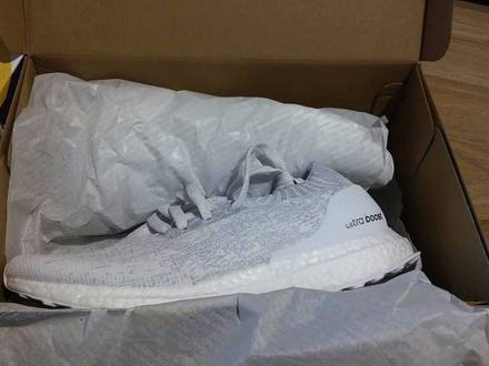 <strong>Adidas</strong> <strong>Ultra</strong> <strong>Boost</strong> Uncaged <strong>Triple</strong> <strong>White</strong> Ultraboost - photo 1/5