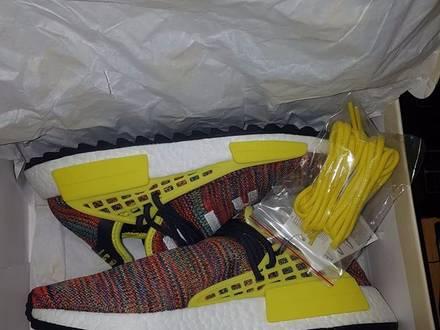 Adidas x Pharrell Williams NMD PW Trail Human Race Multicolor US 8.5 & 9.5 - photo 1/5