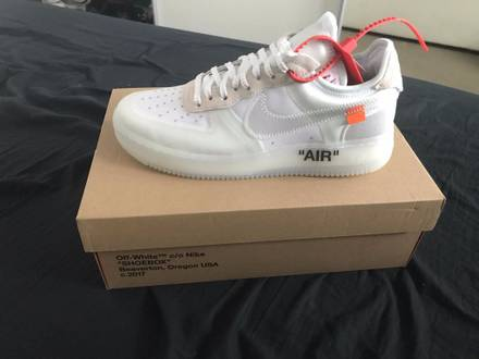 Nike x Off White Air Force 1 Low - photo 1/6