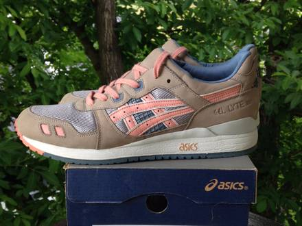 Asics gel lyte iii 3 x ronnie fieg flamingo - photo 1/7