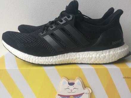 Adidas ultraboost boost core black 1.0 - photo 1/5