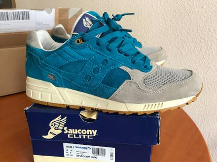 <strong>Saucony</strong> Shadow 5000 x bodega teal re-issue - photo 1/5
