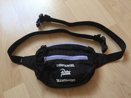 Patta x Dekmantel 2017 dual logo waistbag - photo 1/5