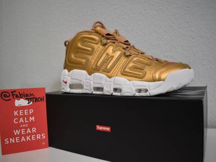 Nike x <strong>Supreme</strong> <strong>Uptempo</strong> - photo 1/8
