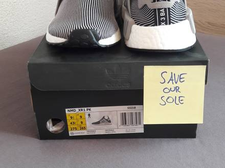 NMD_XR1 PK Grey US9.5 - photo 2/5