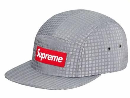 Supreme silver 3m camp cap - photo 1/5