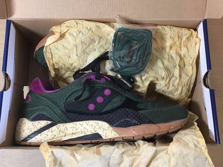 Bodega X Saucony Shadow 6000 'Polka Dot' Pack - photo 1/6
