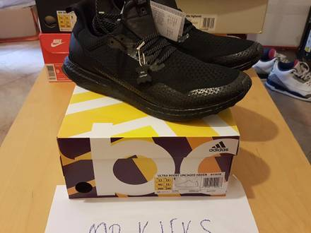 Adidas Ultra Boost Uncaged Haven Triple Black BY2638 - photo 1/6
