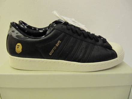 """Adidas x <strong>A</strong> <strong>Bathing</strong> <strong>Ape</strong> x UNDFTD Collaboration """"Superstar 80v"""" - photo 1/6"""