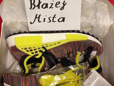 Adidas NMD Human Race x Pharrell Wiliams MULTICOLOR - photo 1/6