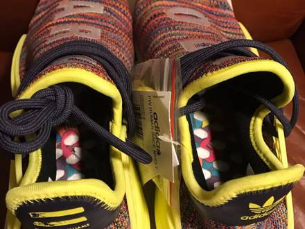 adidas Nmd human race multicolor - photo 1/5