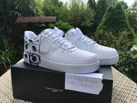 Nike Air Force 1 Supreme x <strong>Comme</strong> <strong>des</strong> <strong>Garcons</strong> CDG US 11 - photo 1/8