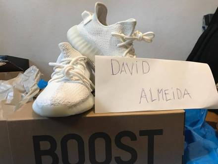 Adidas <strong>yeezy</strong> boost <strong>350</strong> v2 <strong>cream</strong> <strong>white</strong> - photo 1/6