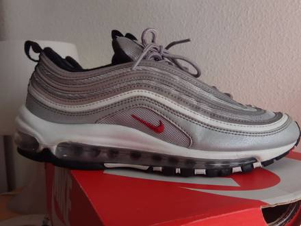 Nike <strong>Air</strong> <strong>Max</strong> <strong>97</strong> Silver Bullet OG 8.5 US WMNS <strong>gold</strong> undefeated 2017 - photo 1/7