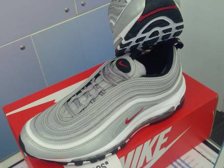 Nike <strong>Air</strong> <strong>Max</strong> <strong>97</strong> OG QS <strong>Silver</strong> Bullet - photo 1/6