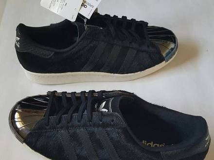 "Adidas Superstar 80's Metal Toe ""Pony black"" us 8 / 41.5 eu - photo 1/5"