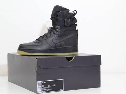 Nike Air Force 1 SF Special Field Black/Gum - photo 1/5