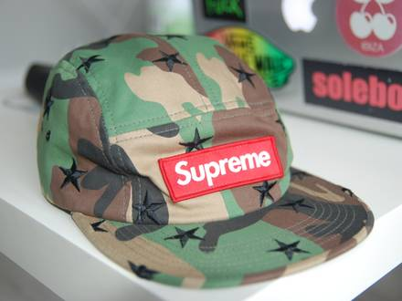 Supreme Stars camo camp cap - photo 1/5