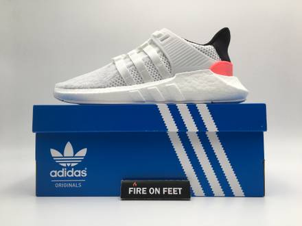<strong>Adidas</strong> EQT Support 93/17 <strong>White</strong> - photo 1/5