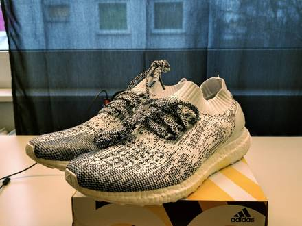 Ultra boost Uncaged Oreo Onedyed White <strong>Zebra</strong> <strong>Yeezy</strong> - photo 1/5