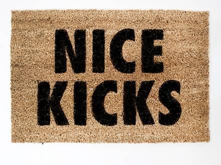 NICE KICKS - DOORMAT - photo 1/3