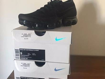 Nike <strong>Vapormax</strong> Black/Dark Anthracite - photo 1/5