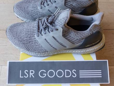 """Adidas Ultra Boost 3.0 Silver Pack """"Super Bowl"""" (8us-11.5us-12us) - photo 1/8"""