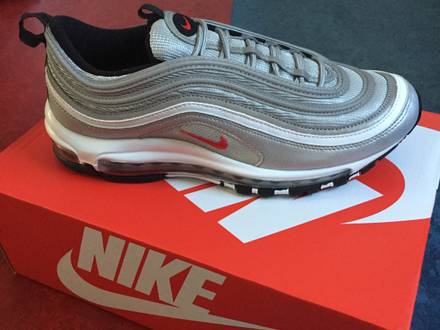 Nike <strong>Air</strong> <strong>Max</strong> <strong>97</strong> OG <strong>Silver</strong> Bullet - photo 1/5