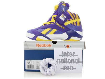 "REEBOK SHAQ ATTAQ ""LSU"" - photo 1/8"