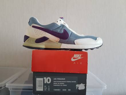 Vintage Nike air pegasus 92 greystone ds 1993 us 10 - photo 1/8