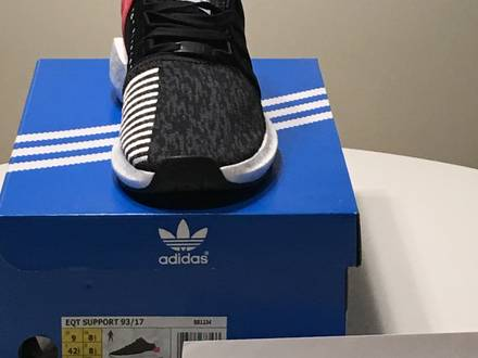 EQT SUPPORT 93/17 Turbo Red - photo 1/5