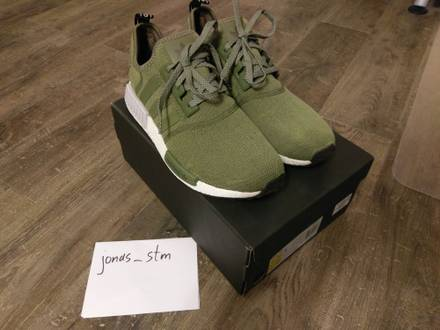 Adidas NMD_R1 Footlocker Exclusive Olive Cargo - photo 1/6