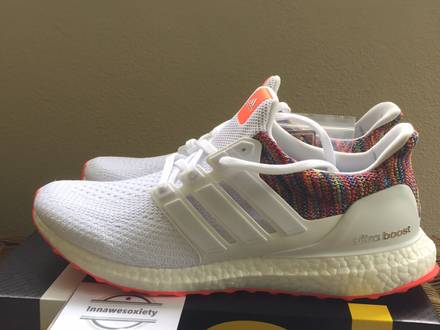 outlet store 4ff4c 8b976 reduced adidas ultra boost rainbow uk 060e2 8b952