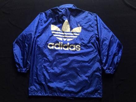 Vintage adidas run dmc big logo Windbreaker - photo 1/5