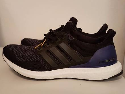 adidas ultra boost 1 0 black trainers outlet
