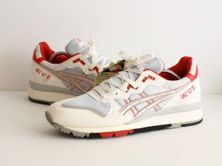 vintage ASICS GT III 3 1989 MADE IN KOREA US11 DEADSTOCK - photo 1/8