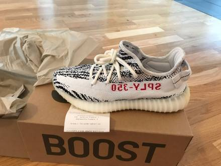 Adidas <strong>Yeezy</strong> Boost 350 V2 <strong>Zebra</strong> - photo 1/8