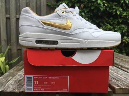Nike air max 1 FB Woven Gold - photo 1/5