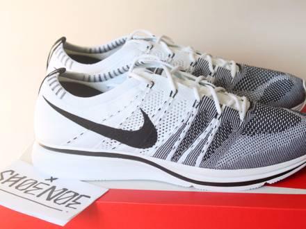 Nike Flyknit Trainer White Black OG The Return US 13 UK 12 47.5 Nikelab Oreo Knit US 10.5 UK 9.5 - photo 1/5