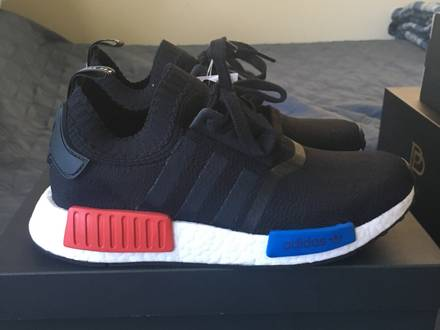 Adidas NMD R1 x Villa Red Blue Yellow VILLA EXCLUSIVE Size 9