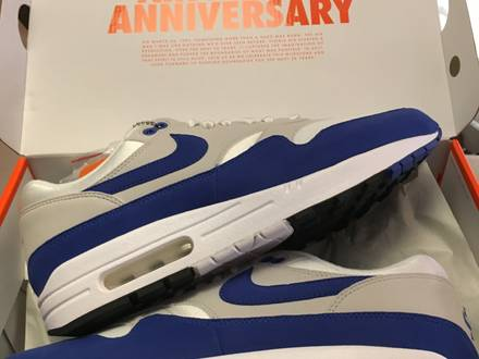 <strong>Nike</strong> <strong>air</strong> max 87 og blue <strong>size</strong> us10 - photo 1/5