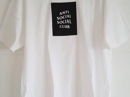 Anti Social Social Club, Club Tee White, T-Shirt, XL - photo 1/5