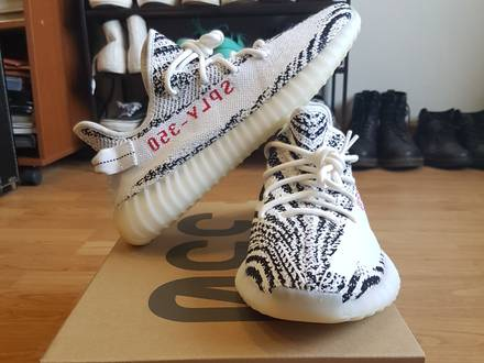 <strong>YEEZY</strong> BOOST 350 V2 <strong>ZEBRA</strong> 11 US - photo 1/8