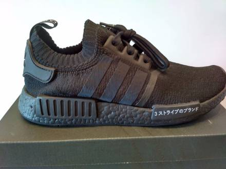 ADIDAS NMD_R1 PRIMEKNIT TRIPLE BLACK BZ0220 - photo 1/6
