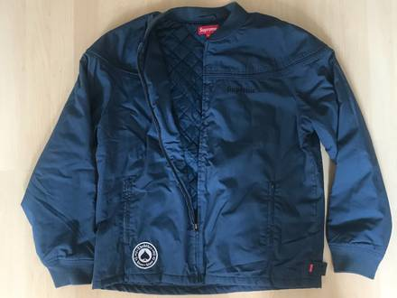 SUPREME X THRASHER Poplin Crew Jacket size: XL - photo 1/5