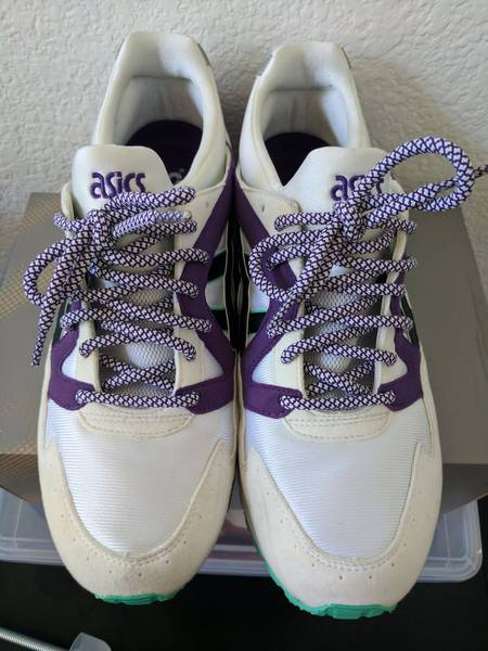 Asics Gel Lyte V Retro OG White/Purple 1st Retro Series - photo 5/8