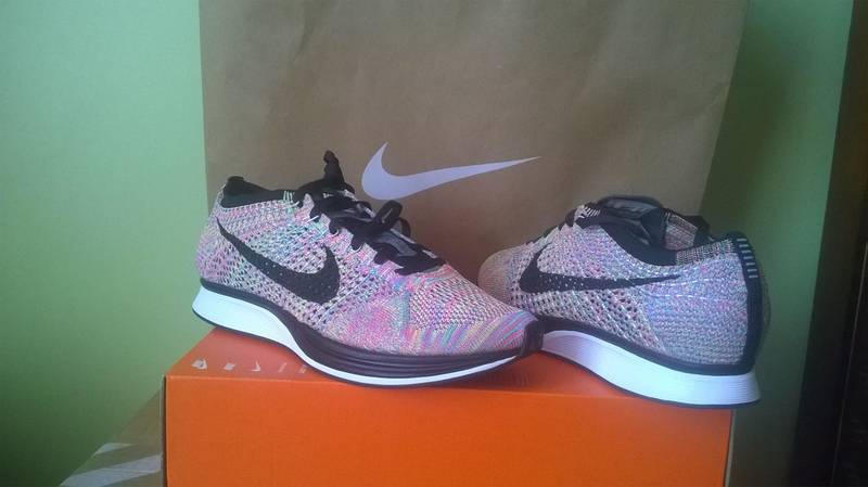 nike flyknit racer multi-color - photo 4/6