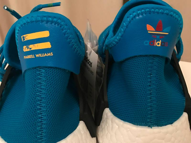 Pharrell x adidas Originals Hu NMD New Colorways